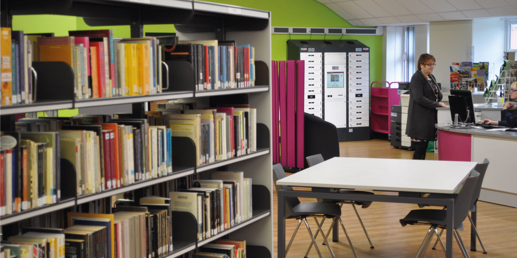 Libraries – Then and Now