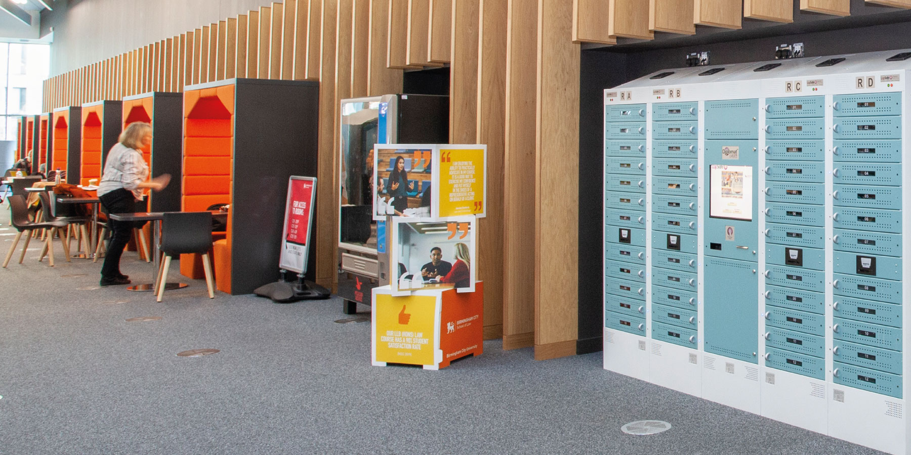 How to Create a Flexible Learning Space with Self-Service Charging Lockers